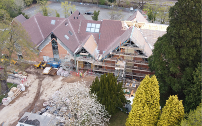 St Philip's Church Centre is progressing well