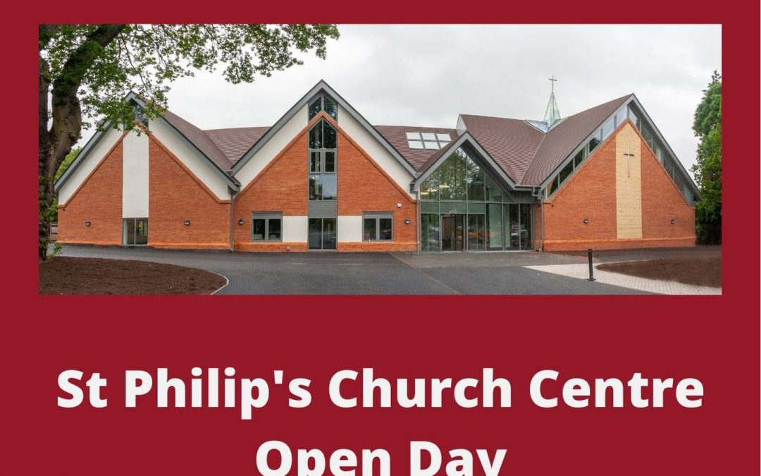 St Philip's Church Centre Open Day on Saturday 4th September